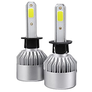cheap OBD-2Pcs Upgrated Super Bright S2 COB LED Car Headlights Bulbs H1 H3 H4 H7 H8 H9 H11 H13 880 881 9004 9005 9006 9007 9012 288W 28800LM 6500K White Waterproof