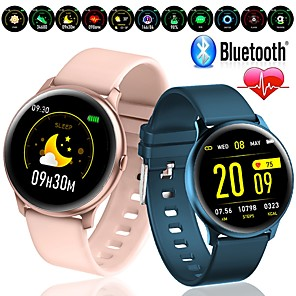 cheap Smartwatches-W19 PRO New Ultra-thin Smart Watch Heart Rate Blood Oxygen Sport Fitness Trakcer Bluetooth Watch for Android IOS Phone