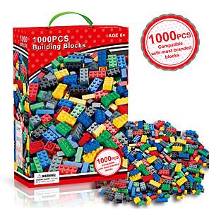 cheap Building Blocks-Building Blocks Construction Set Toys Educational Toy Building Bricks 1000 pcs Novelty DIY Building Toys Unisex Toy Gift / Kid's