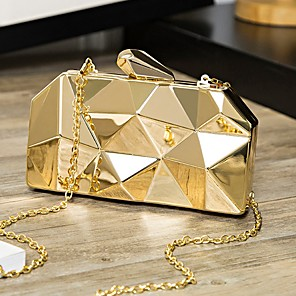 cheap Women's Sandals-Women's Bags PU Leather Crossbody Bag for Daily Gold / Silver / Gray