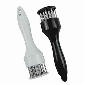 cheap novelty kitchen tools-Stainless Steel Meat Tenderizer Needle Meat Hammer Tenderizer Cooking Tools Kitchen Tools Cooking Baking Accessories