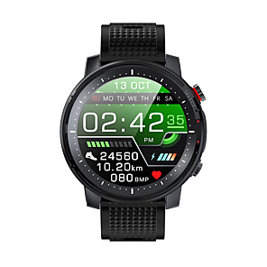cheap Smartwatches-L15 Men Women Bluetooth SmartwatchI P68 waterproof  Heart rate blood Pressure BloodOxygen Monitoring LED Flashlight Lighting Motion Smart Watch for Android iOS