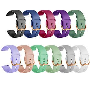 cheap Smartwatch Bands-Watch Band for Samsung Galaxy Watch Active 2 Samsung Galaxy Business Band TPE Wrist Strap