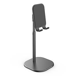 cheap Phone Mounts & Holders-Adjustable Desk Stand Holder Aluminum Desktop Portable Universal Stable Holder Mount Cradle Bracket for Phone Tablet