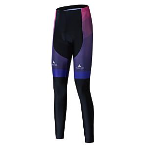 cheap Cycling Jersey & Shorts / Pants Sets-Miloto Women's Cycling Pants Bike Bottoms UV Resistant Quick Dry Sports Black / Red Mountain Bike MTB Road Bike Cycling Clothing Apparel Race Fit Bike Wear / Stretchy