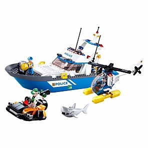cheap Building Blocks-Building Blocks Educational Toy Construction Set Toys 347 pcs Cartoon compatible Plastic Shell Legoing Exquisite Hand-made Decompression Toys DIY Boys and Girls Toy Gift / Kid's