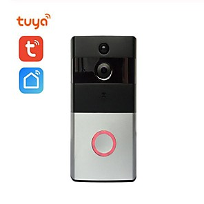 cheap Video Door Phone Systems-Video Doorbell 720P Video Improved Motion Detection Easy Installation