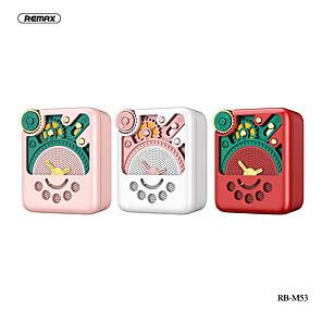 economico Altoparlanti Bluetooth-remax rb-m53 altoparlante bluetooth smart voice mini radio portatile tf card altoparlante medio e alto