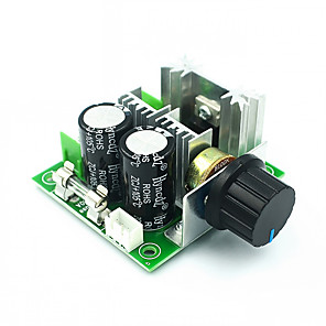 cheap Motherboards-12V-40V 10A Governor PWM DC Motor Speed Control Switch Electronic