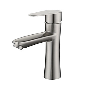 cheap Bathroom Sink Faucets-304 Stainless Steel Basin Faucet Basin Hot And Cold Mixed Water Bathroom Wash Basin Faucet