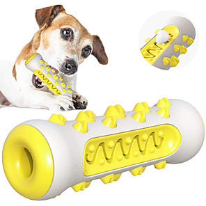 cheap Dog Toys-Chew Toy Toothbrushes Cleaning Brush Bite Bone Dog Cat Pet Toy Focus Toy Rubber Gift