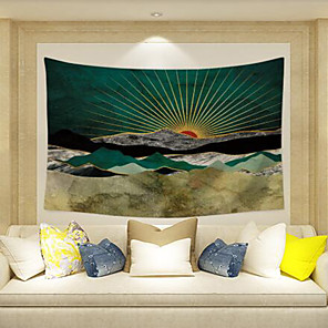 cheap Wall Tapestries-Vegas Theme / Classic Theme Wall Decor Special Material Modern Wall Art, Wall Tapestries Decoration