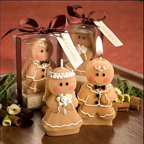 cheap Wedding Decorations-fairytale theme candle favors - 2 pcs candles pvc bag all seasons