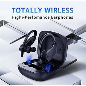 cheap TWS True Wireless Headphones-LITBest B11 TWS True Wireless Earbuds Bluetooth 5.0 Stereo with Charging Box Sweatproof LED Power Display for Sport Fitness