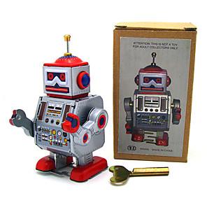 cheap Stuffed Animals-Robot Robot Cool Creepy Clockwork Iron Kids Boys and Girls Toy Gift 1 pcs