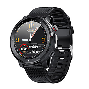 cheap Smartwatches-L15 SmartWatch ECG Heart Rate IP68 Waterproof Blood Pressure Music Control LED Torch Light VS L12 SG2 l13 Smart Watch