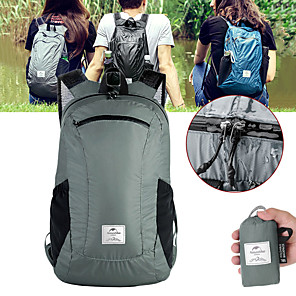 cheap Backpacks & Bags-Naturehike 18 L Hiking Backpack Lightweight Packable Backpack Lightweight Rain Waterproof Ultra Light (UL) Waterproof Zipper Outdoor Camping / Hiking Climbing Cycling / Bike Nylon Black Grey Blue