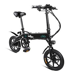cheap Smartphones-FIIDO D1 Folding Electric Moped Bike City Bike Commuter Bike Three Riding Modes 14 Inch Tires 250W Motor 25km/h 10.4Ah Lithium Battery 40-55KM Range