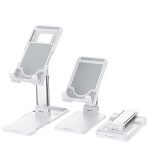 cheap Phone Mounts & Holders-Desktop Tablet Holder for iPhone iPad Foldable Desk Phone Holder for Tablet Samsung Huawei Adjustable Phone Stand