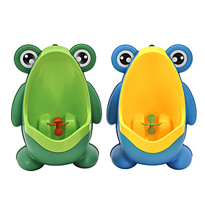 cheap Bathroom Gadgets-New Arrival Baby Boy Potty Toilet Training Frog Children Stand Vertical Urinal Boys Penico Pee Infant Toddler Wall-Mounted