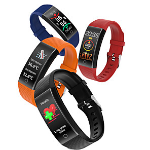 cheap Smartwatch Bands-696 QW18T Unisex Smart Wristbands Android iOS Bluetooth Waterproof Heart Rate Monitor Blood Pressure Measurement Sports Thermometer Pedometer Call Reminder Activity Tracker Sleep Tracker Sedentary