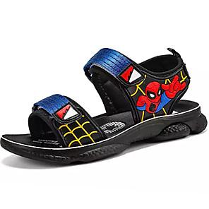 cheap Women's Heels-Boys' Comfort PU Sandals Big Kids(7years +) Red / Blue Summer