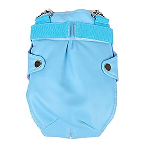 cheap Dog Clothes-Cat Dog Commuter Backpack Dog Clothes Beige Gray Light Blue Costume Mixed Material Cartoon Cosplay Waterproof Wedding S M L