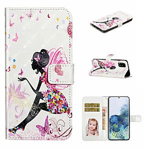 cheap Samsung Case-ase For Samsung Galaxy A71 A51 Phone Case PU Leather Material 3D Painted Pattern Phone Case for A20E A10E A10 A20 A30 A40 A50 A70 A7 2018
