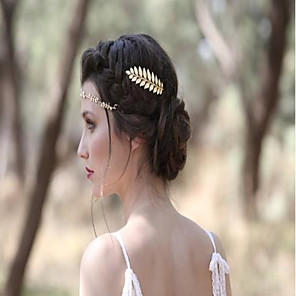 cheap Party Sashes-Ladies Stylish Alloy Headdress with Solid 1 Piece Wedding / Special Occasion Headpiece