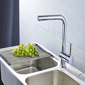 cheap Bathroom Sink Faucets-All Copper Hot And Cold Vegetable Basin Faucet Rotating Kitchen Faucet Hot And Cold Mixed Water