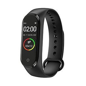 cheap Smartwatches-M4 Smart Wristband for IOS/Samsung/Android Phones, Long Battery-life Sports Bluetooth Fitness Tracker Support Remind Call/Notification