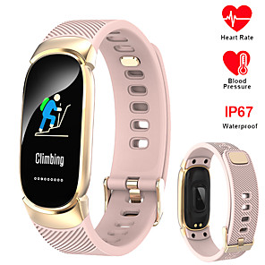 cheap Smart Watches-696 QW16 Unisex Smart Wristbands Android iOS Bluetooth Waterproof Heart Rate Monitor Blood Pressure Measurement Sports Information Pedometer Call Reminder Activity Tracker Sleep Tracker Sedentary