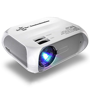 cheap Projectors-LITBest S5 LED Projector Red-Blue 3D 1280x720 Pixels 4800 Lumen HDMI VGA USB Portable Cinema Proyector Beamer