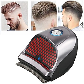 cheap Thermometers-Rechargeable Hair Trimmers Beard Shaver Hair Clippers for Men Self-Haircut at Home Kit Hair Clippers Cordless With 9 Combs