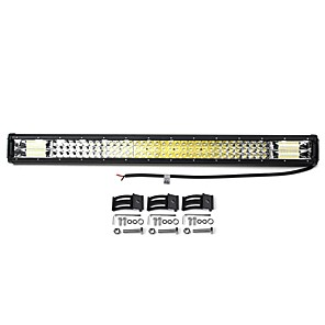 cheap Warning Lights-32'' 160W Off Road LED Work Light Bars Combo Spot Driving Lamp Truck Boat SUV