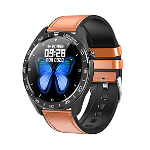 cheap Women's Sandals-WB01 Men Women Smartwatch Android iOS Bluetooth Waterproof Touch Screen Heart Rate Monitor Blood Pressure Measurement Sports Timer Pedometer Call Reminder Sleep Tracker Sedentary Reminder