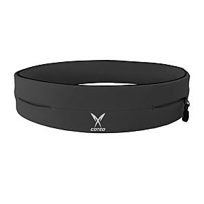 cheap Running Bags-Running Belt Fanny Pack Belt Pouch / Belt Bag for Running Hiking Outdoor Exercise Traveling Sports Bag Adjustable Waterproof Portable Polyester Men's Women's Running Bag Adults
