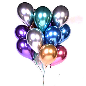 cheap Balloons-Party Balloons 50 pcs Birthday Party Game Balloon Party Favors Color Gradient for Party Favors Supplies or Home Decoration / 14 Years & Up