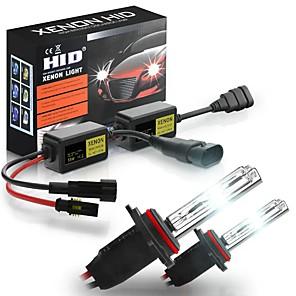 cheap Car Headlights-6000K HID Xenon Car Headlights Conversion Kit H1 H3 H4 H7 H8/H9/H11 9005 9006 880 9012 ERROR FREE with Ballast