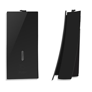 cheap Wall Stickers-Soap Dispenser New Design / Cool Matte Black / Constraction ABS 1pc Wall Mounted Push Button Handwash Sanitizer Machine