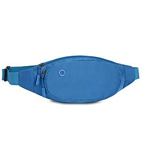 cheap Running Bags-Running Belt Fanny Pack Waist Bag / Waist pack 1.3 L for Running Sports Bag Wearable Nylon Running Bag