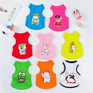 cheap Dog Clothes-Dog Sweater Sweatshirt Heart Keep Warm Winter Dog Clothes Yellow Red Blue Costume Cotton XXS XS
