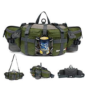 cheap Backpacks & Bags-BP-VISION 6 L Waist Bag / Waist pack Hiking Backpack Cycling Backpack Multifunctional Waterproof Rain Waterproof Quick Dry Outdoor Camping / Hiking Hunting Fishing Terylene Black Purple Red / Compact