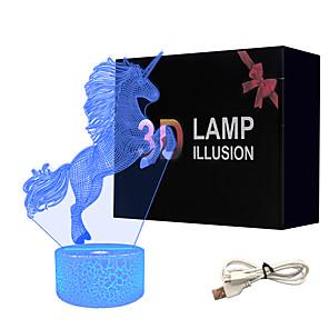 cheap 3D Night Lights-3D Nightlight Creative USB 1pc