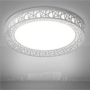 cheap Dimmable Ceiling Lights-3 Color Dimming Fashion LED Bird's Nest Shape Fixture Modern Lamp Lighting Living Room Bedroom Surface Mount  Home Decor Lighting 220v