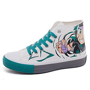 cheap Everyday Cosplay Anime Hoodies & T-Shirts-Cosplay Shoes My Hero Academy Battle For All / Boku no Hero Academia Cosplay Anime Cosplay Shoes Canvas Men's / Women's 855