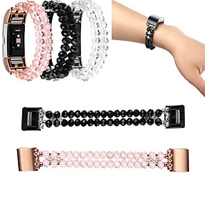 cheap Smartwatch Bands-Luxurious Elegant Wrist Strap for Fitbit Charge2 Telescopic Jewelry Strap Watch Strap