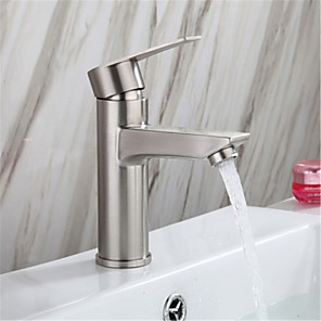 cheap Bathroom Sink Faucets-304 stainless steel hot and cold basin faucet wash basin faucet under counter basin faucet 304 single hole hot and cold