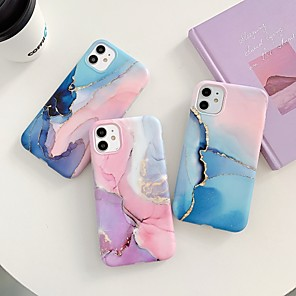 cheap iPhone Cases-Case for Apple scene map iPhone 11 11 Pro 11 Pro Max X XS XR XS Max 8 Colorful marble pattern fine matte TPU material IMD process all-inclusive mobile phone case LX