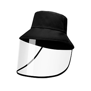 cheap Movie & TV Theme Costumes-Men's Sun Hat Polyester Basic - Solid Colored Fall Black